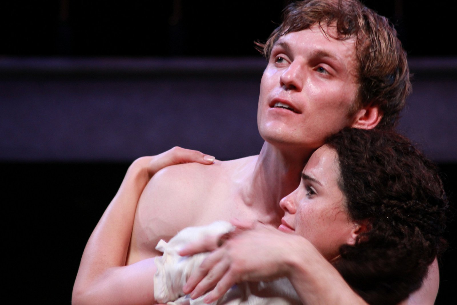 Christopher Sheard and Melisa Pereyra in Romeo and Juliet, 2014.