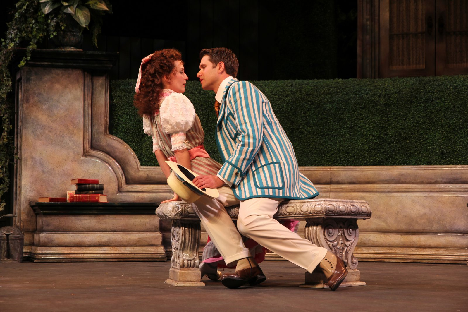 Kelsey Brennan and Marcus Truschinski in The Importance of Being Earnest, 2014.