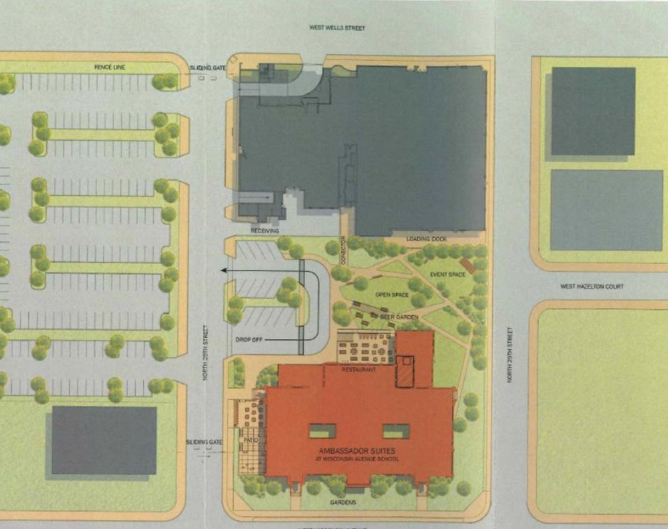 City Campus and Ambassador Suites Plan