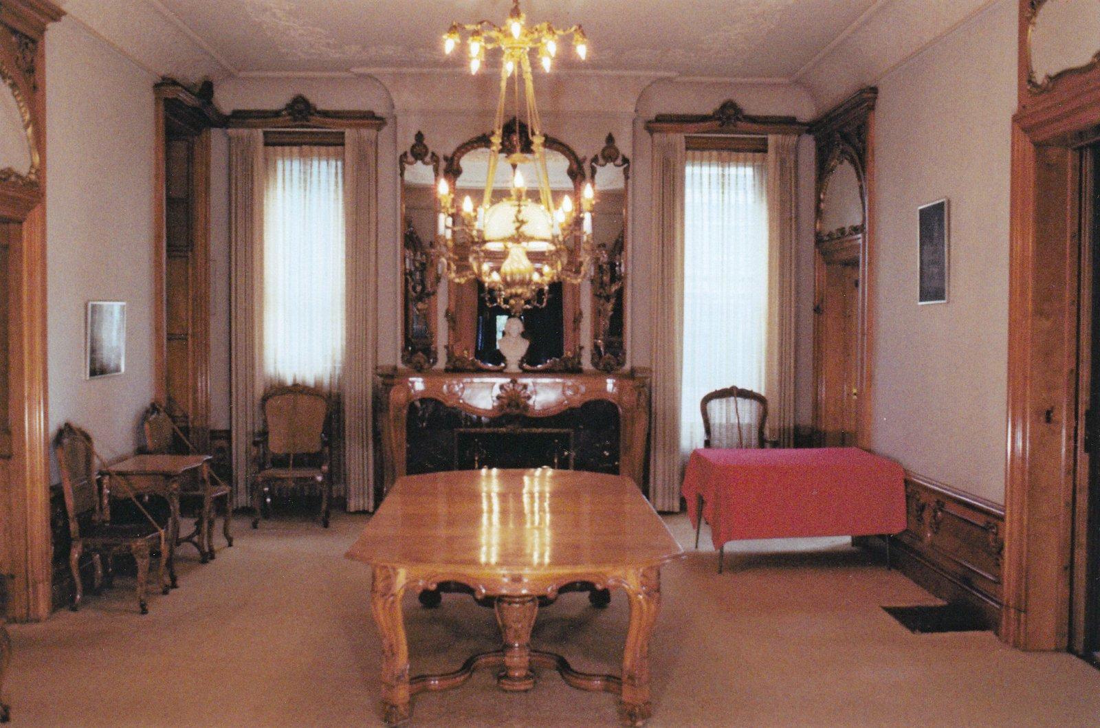Pabst Mansion Dining Room - 1978