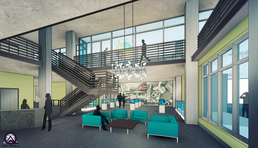 The Future Food Center Rendering