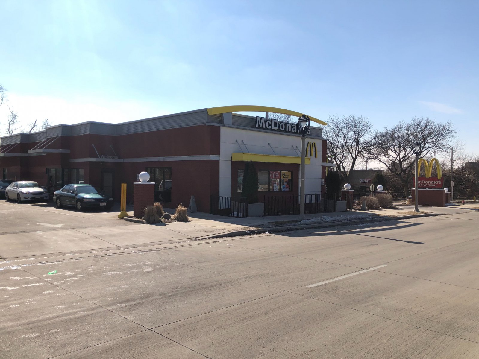 McDonald\'s at 2455 W. Wisconsin Ave.