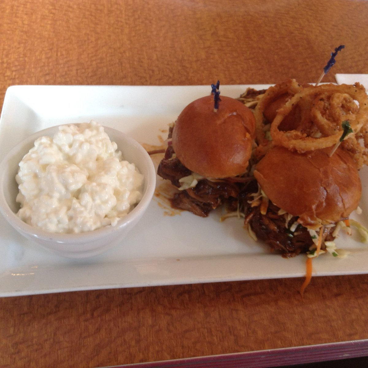 On the Menu at Envoy: Asian BBQ Pulled Pork Sliders