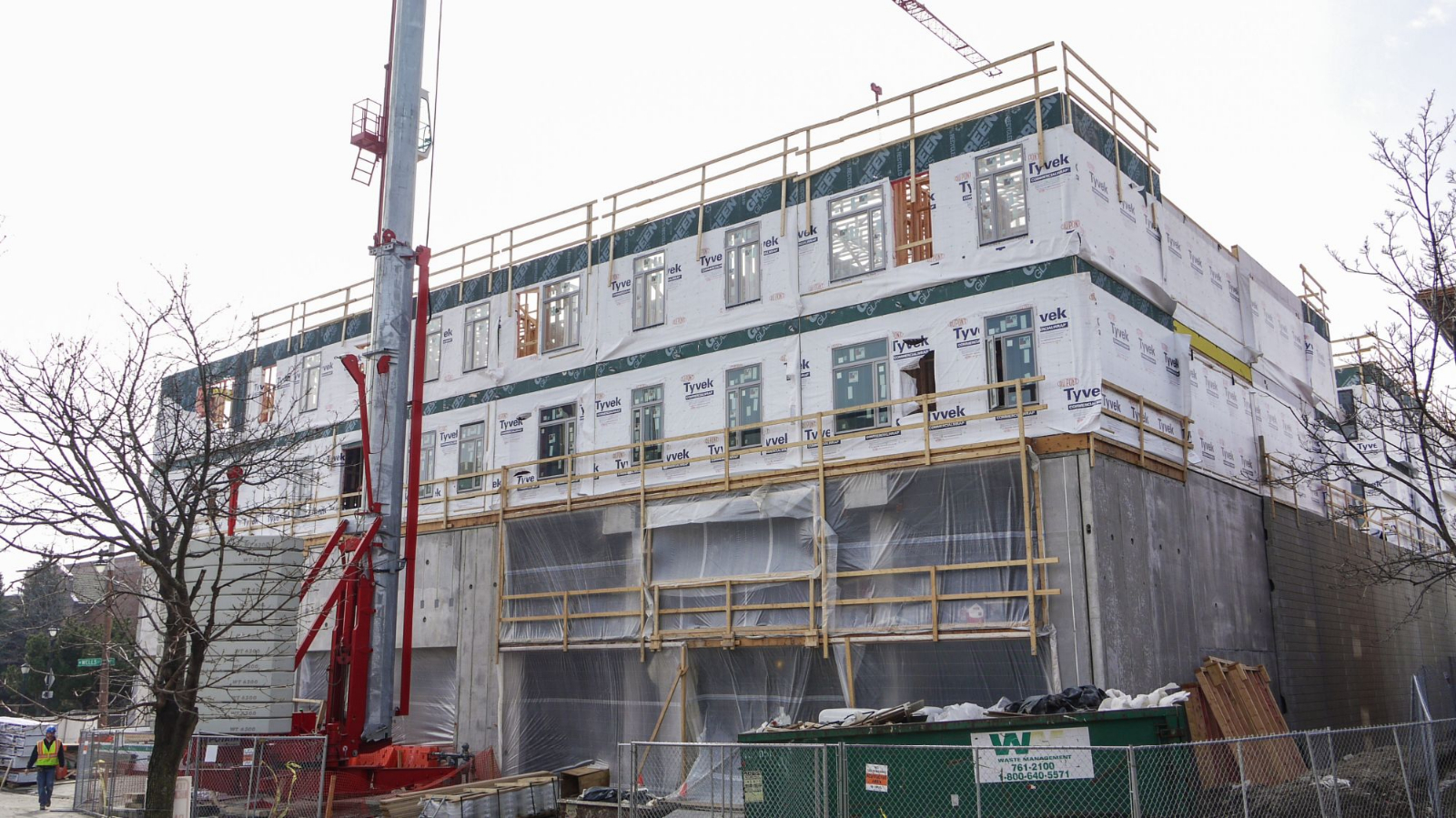 Marquette Apartments Construction