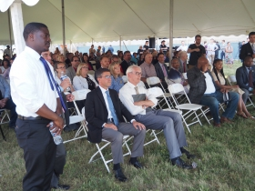Crowley, Evers and Others Watch BRT Video