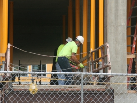 Robert A Wild SJ Commons Construction