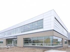 State of Wisconsin Department Of Children and Families office building is nearing completion.