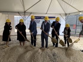 Physician Assistant Studies Building Groundbreaking