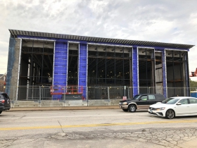 Marquette University Athletic and Human Performance Research Center Construction