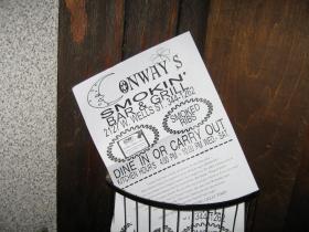 Conway's menu