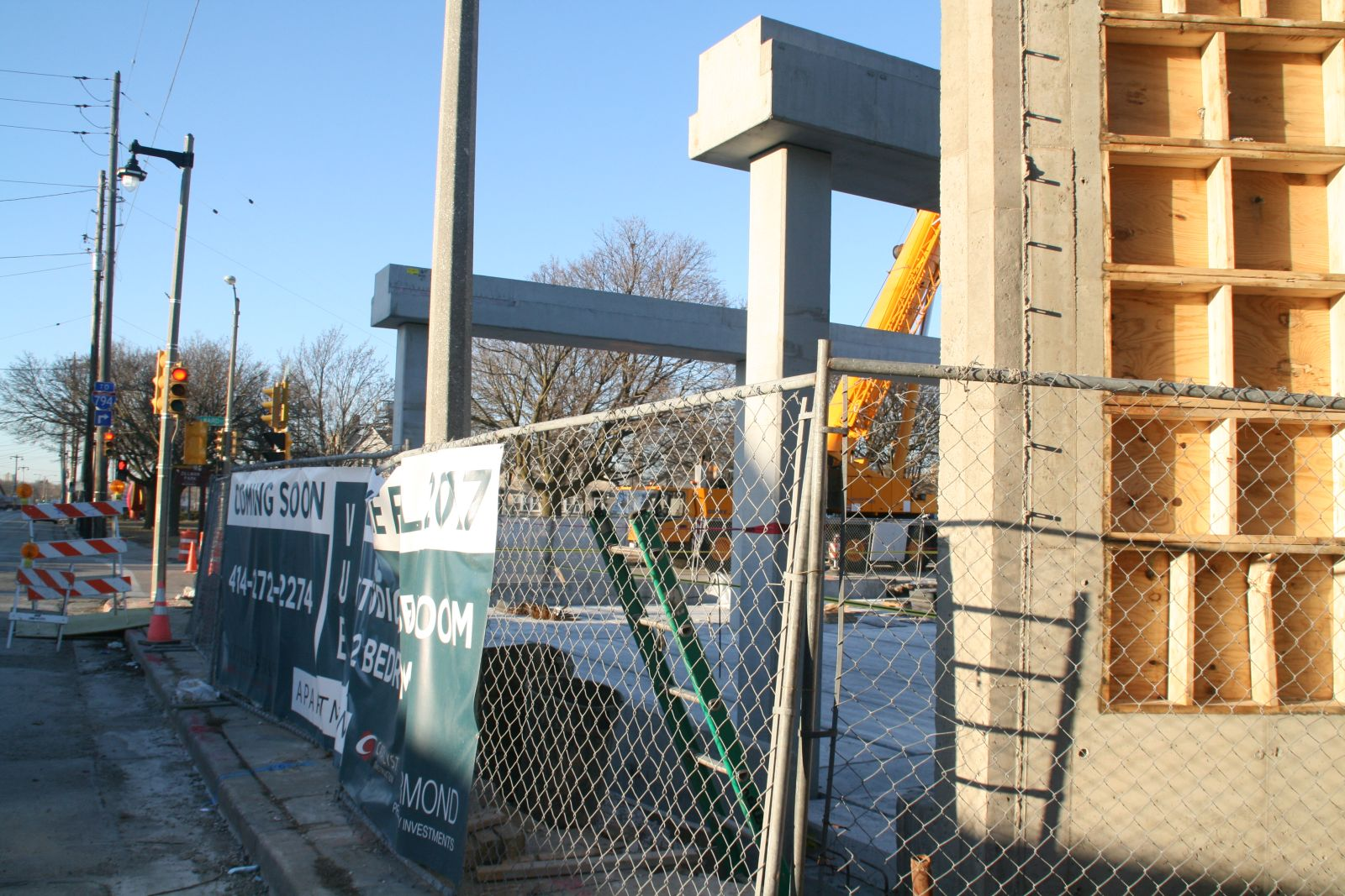 Vue Apartments Construction