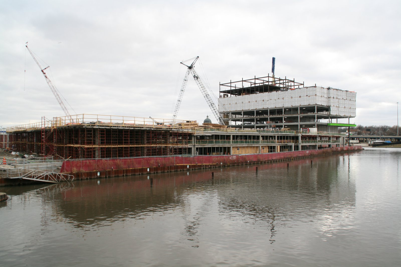 River One Construction