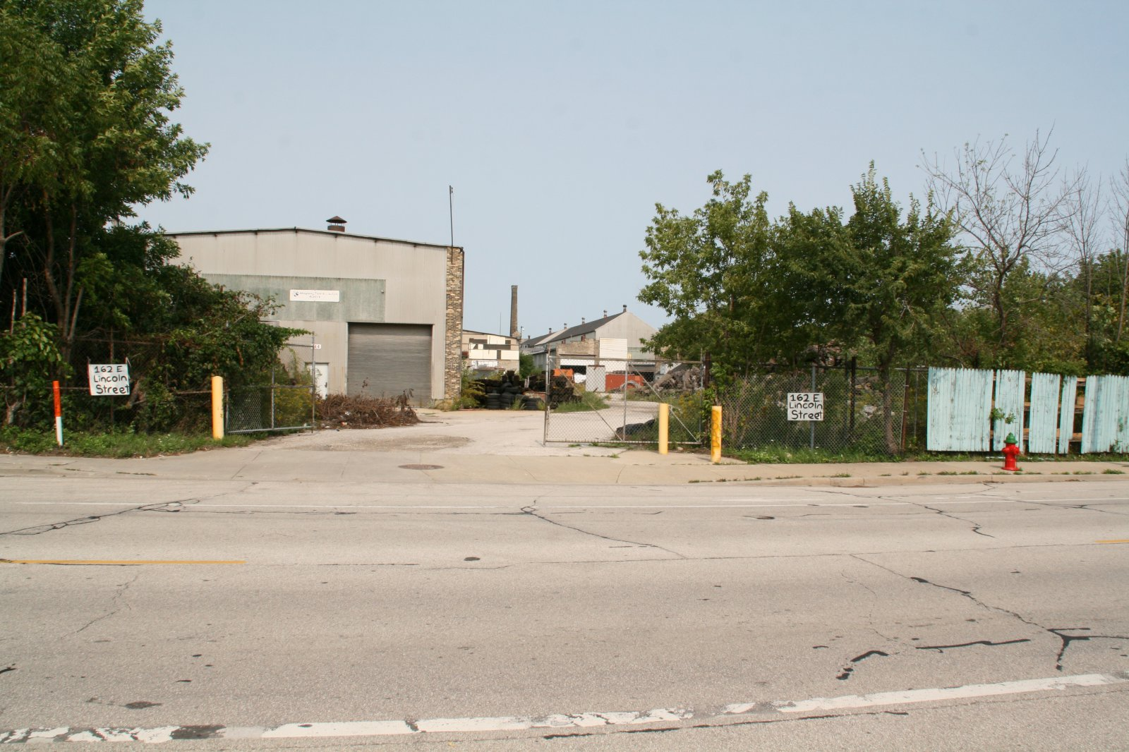 Filer & Stowell (Southwind Marine) complex along E. Lincoln Ave.
