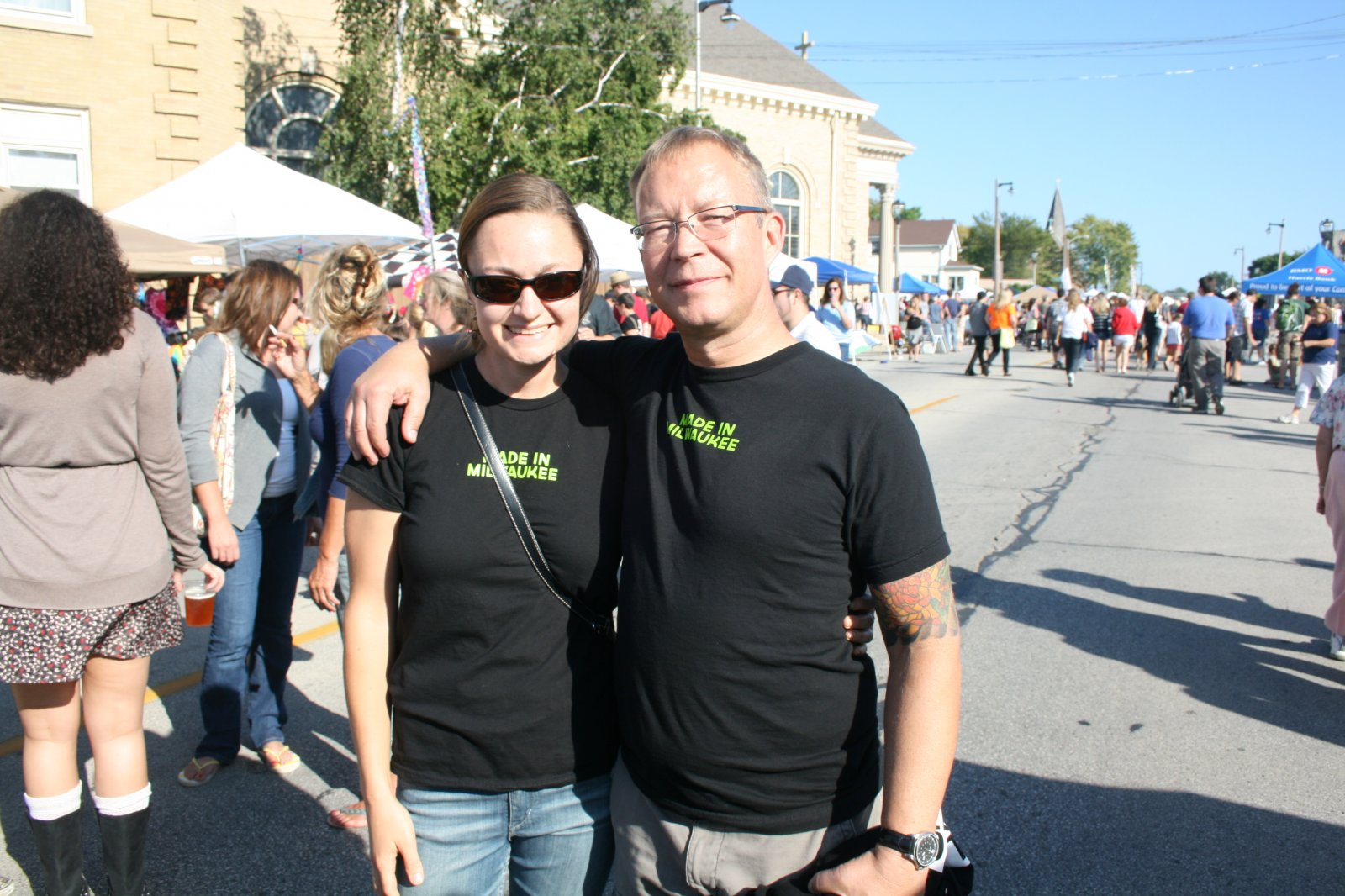 Annie Weidert and Jan Pierce.