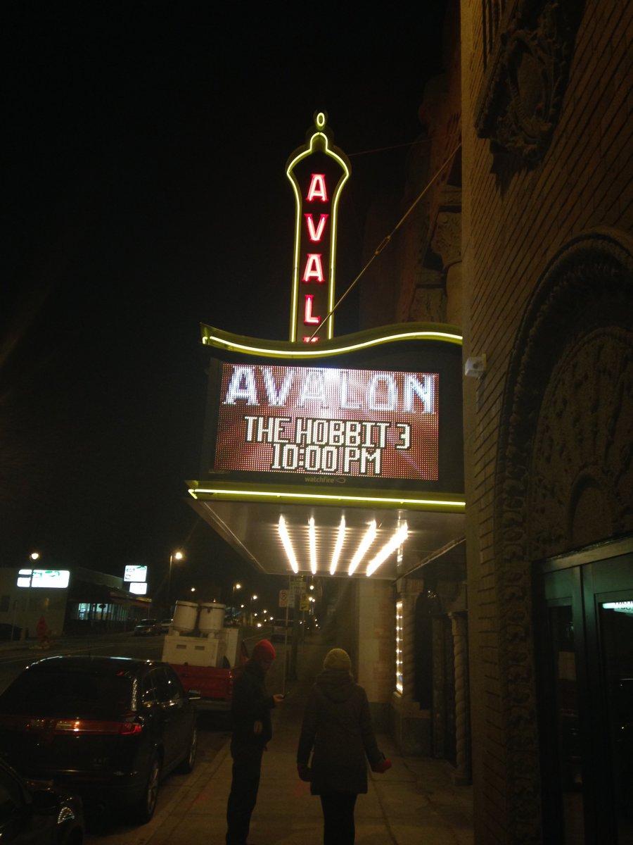 The Avalon returns!
