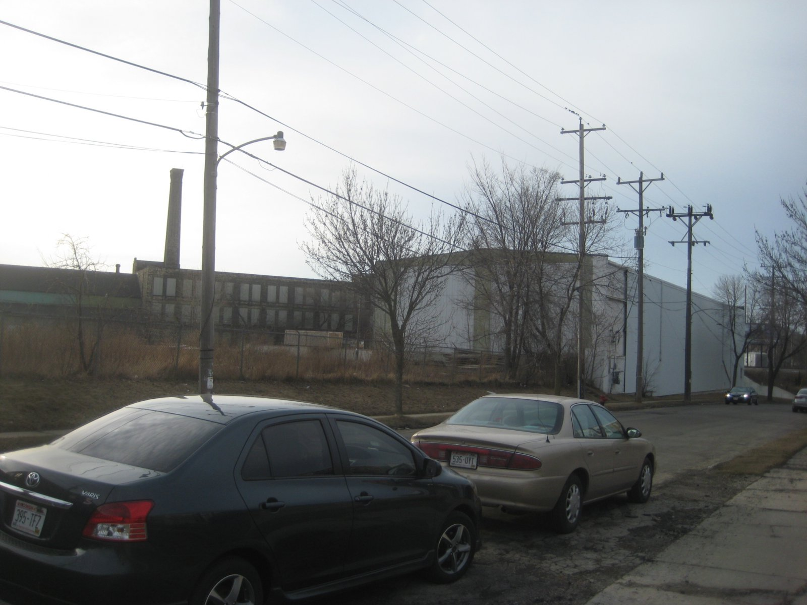 Proposed redevelopment site.
