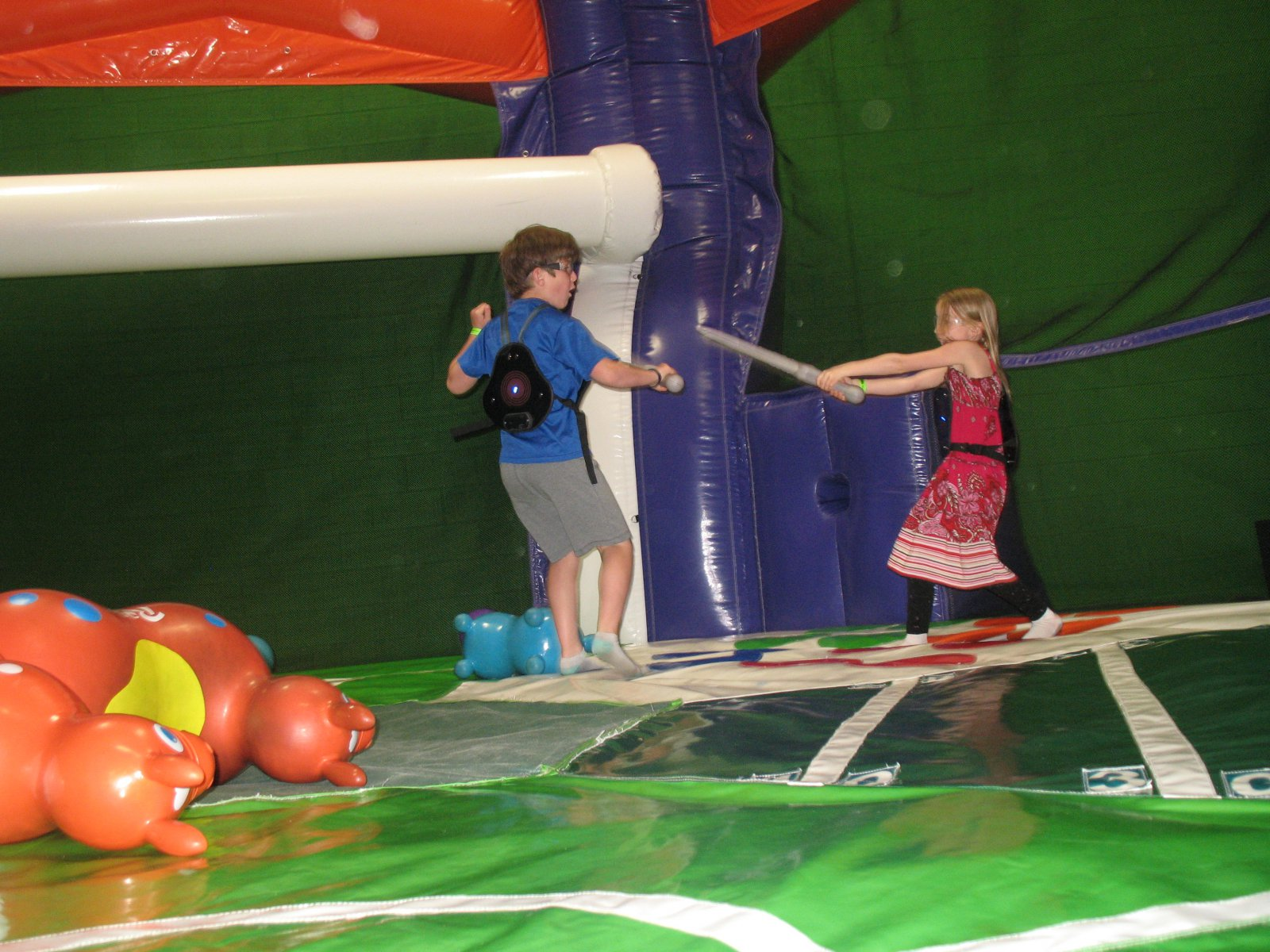 Playing MagneTag at Bounce Milwaukee