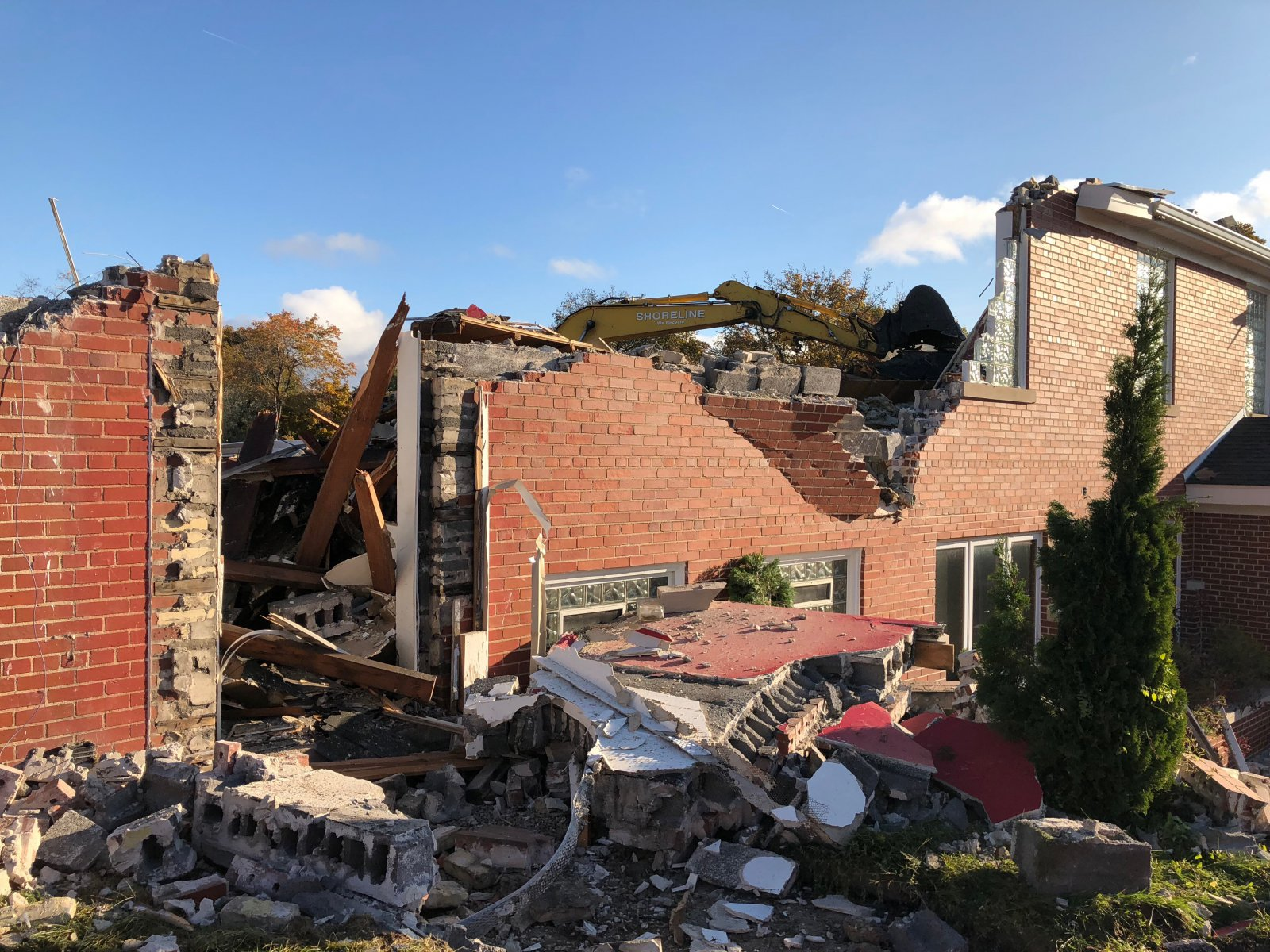 American Legion Demolition