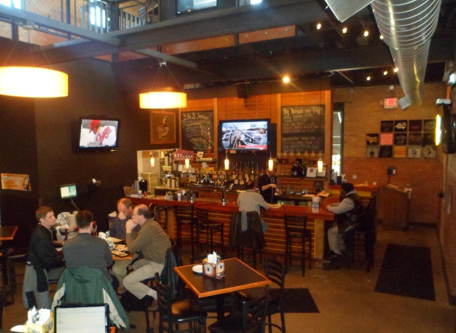 Main Bar at Horny Goat Hideaway