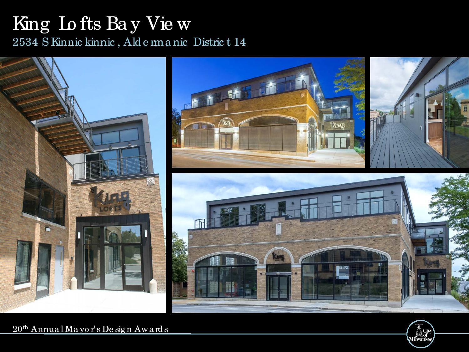King Lofts Bay View, 2534 S. Kinnickinnic Ave.