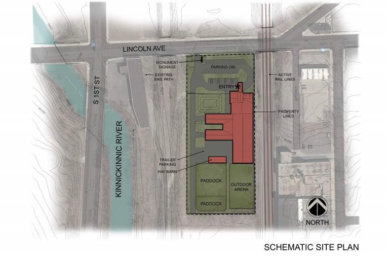 Milwaukee Urban Stables Site Plan