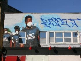 In-Progress Respect Mural