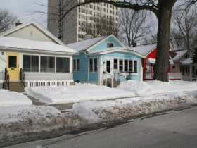 Puddlers' Cottages on S. Superior St.