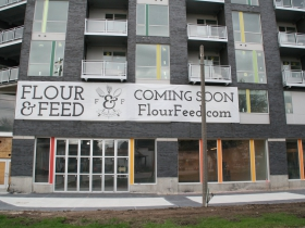 Flour and Feed Sign
