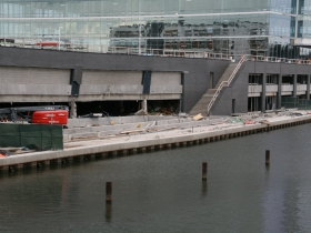 Damaged Parking Structure at River One