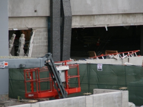 River One Parking Structure Damage