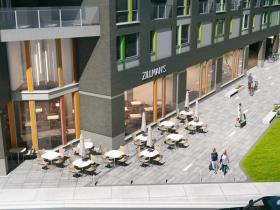 Archer Avenue Plaza Rendering