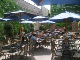 Cafe Centraal patio.