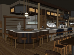 Centraal Cafe Rendering