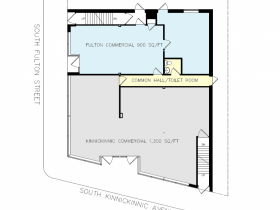 2870 S. Kinnickinic Ave. Floor Plan