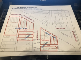 Site Plan for Lurie Development