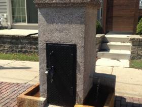 Pryor Avenue Iron Well