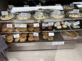 Sweet and Savory pie display