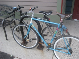 Bike at Burnhearts