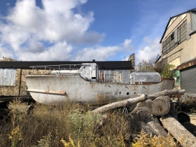 Abandoned Boat at Filer & Stowell
