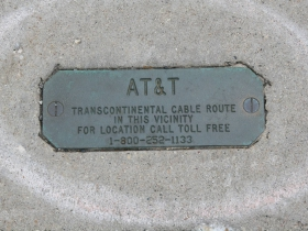 Transcontinental Cable Route
