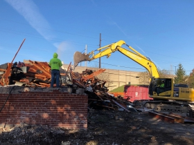 American Legion Demolition