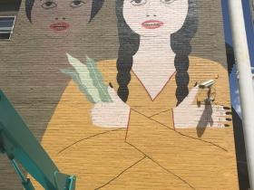 Mural by Jenny Jo Kristan