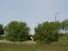 Wind Turbine in Bay View