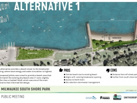 South Shore Beach Alternative 1 Rendering