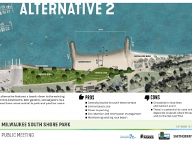 South Shore Beach Alternative 2 Rendering