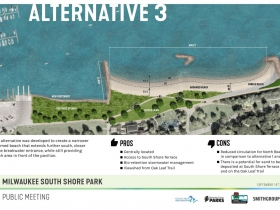 South Shore Beach Alternative 3 Rendering