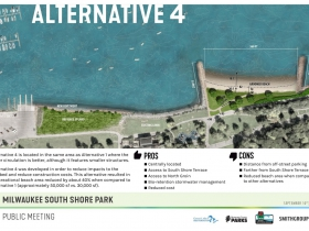South Shore Beach Alternative 4 Rendering
