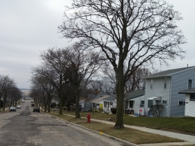 South end of Logan Avenue