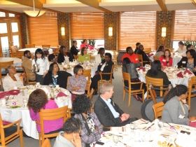 The Third Women in Business Luncheon was hosted by the African- American Chamber of Commerce at the Milwaukee Yacht Club. Photo by Tony Atkins.