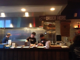 Open Kitchen at The Vanguard.